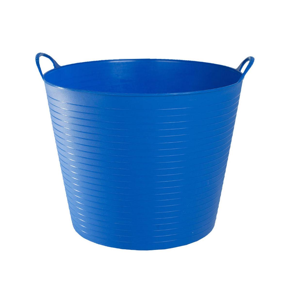 az reitsport horze zofty eimer flexibel 30 liter blau. Black Bedroom Furniture Sets. Home Design Ideas